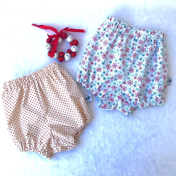 CHRISTMAS Shorties/Nappy Covers