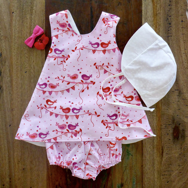 PINNIES + PINNIE/BLOOMER SETS