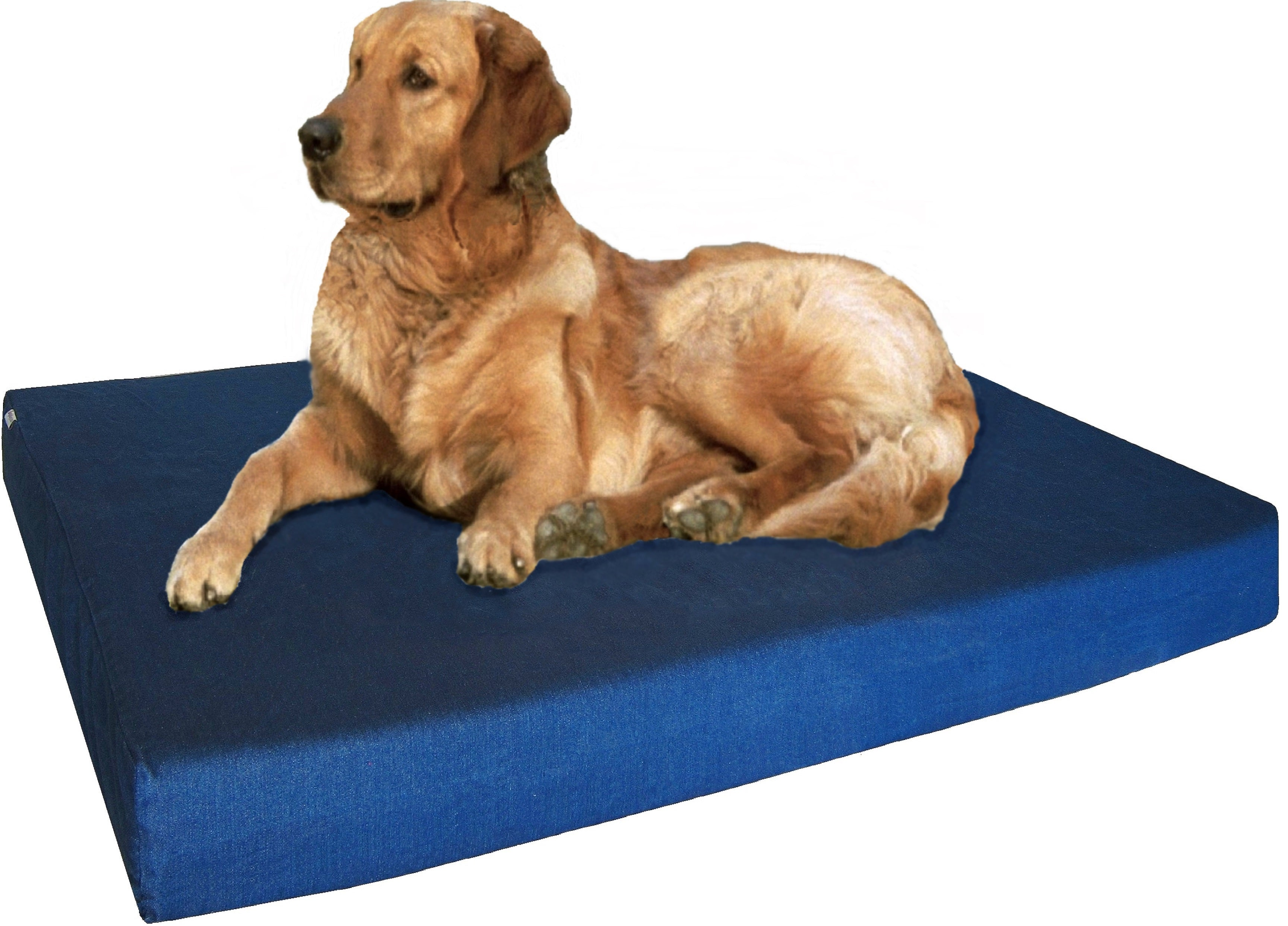 brown upc round dog large extra deluxe memory bed orthopedic products foam