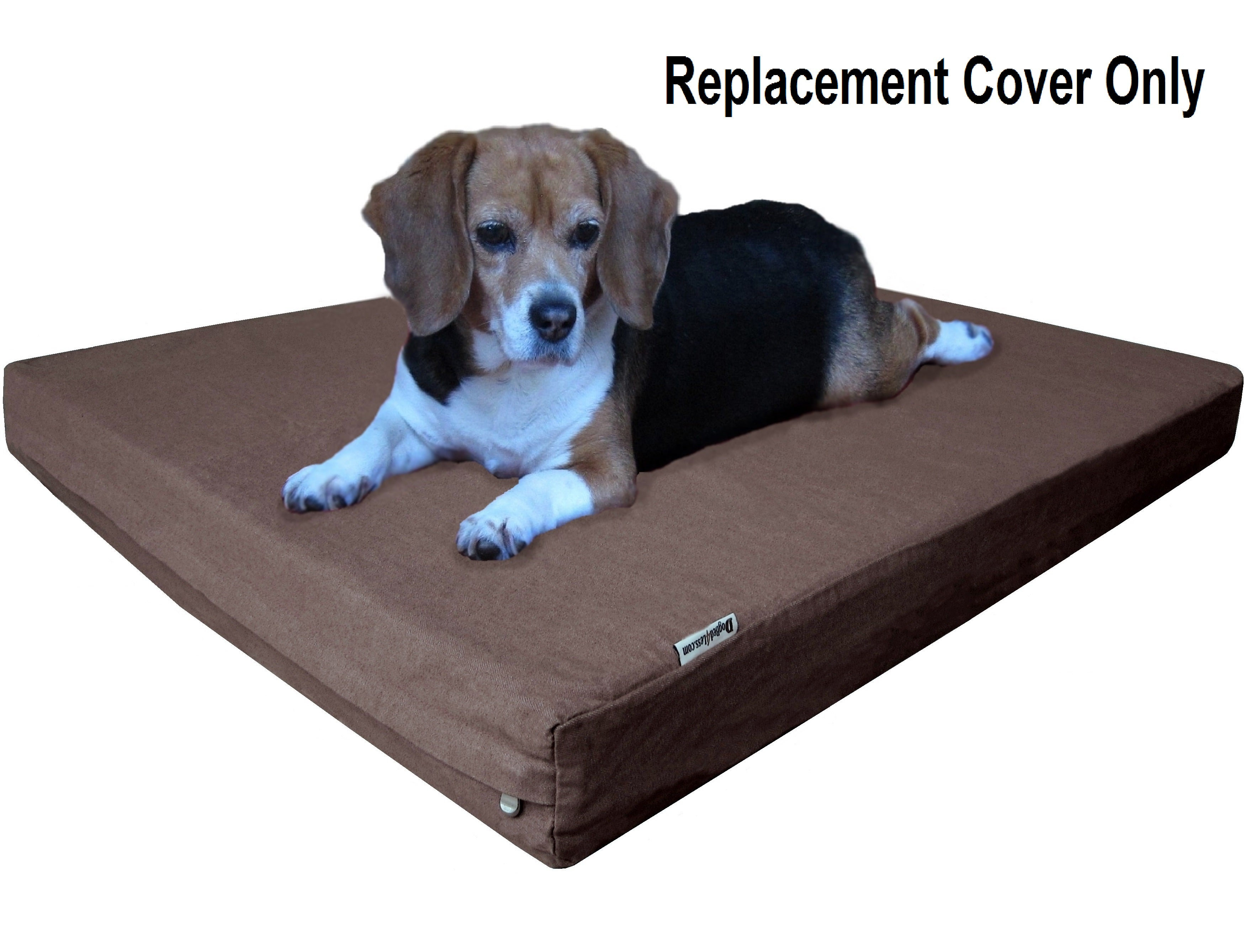 covered dog bed pet bed replacement cover brown durable denim jean 28760