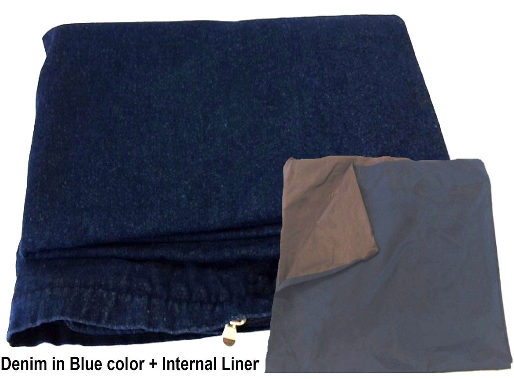 Dogbed4less DIY Cover in Denim Blue