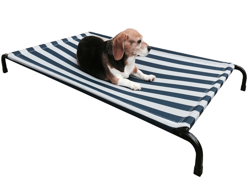 Dogbed4less steel elevated pet bed