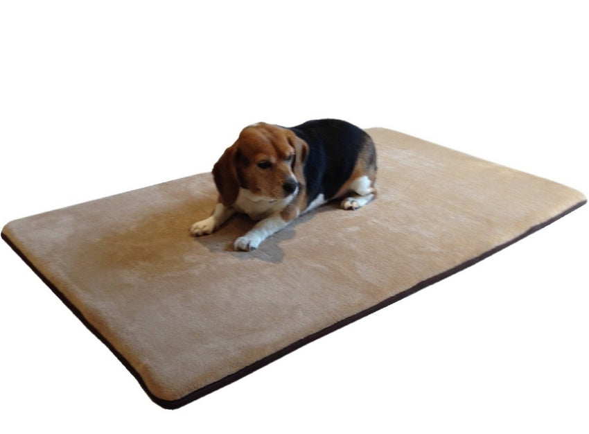 Dogbed4less memory foam pet mat