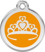 Red Dingo - Crown ID Tag | Krazy For Pets