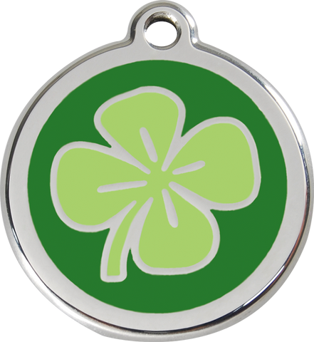 Red Dingo - Clover ID Tag | Krazy For Pets