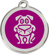 Red Dingo - Dog ID Tag | Krazy For Pets