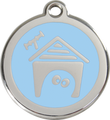 Red Dingo - Dog House ID Tag | Krazy For Pets