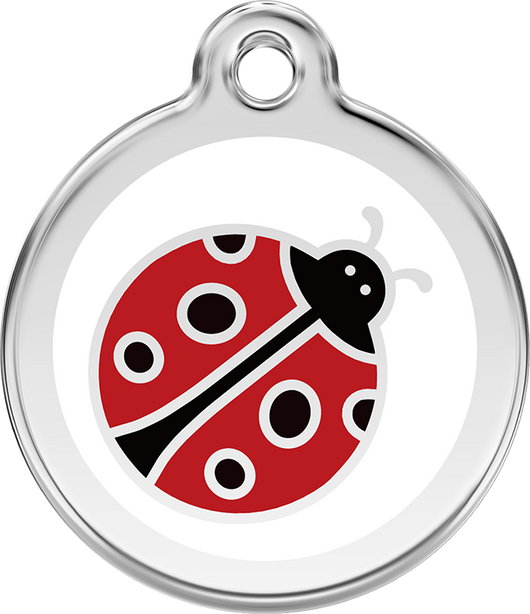 Red Dingo - Lady Bug ID Tag | Krazy For Pets