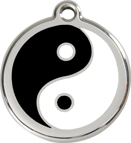 Red Dingo - Yin & Yang ID Tag | Krazy For Pets