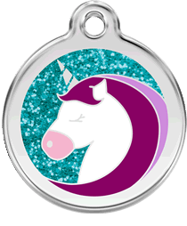 Red Dingo - Unicorn Pet ID Tag | Krazy For Pets