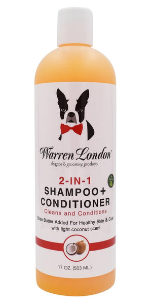 Warren London - 2-in-1 Shampoo & Conditioner | Krazy For Pets