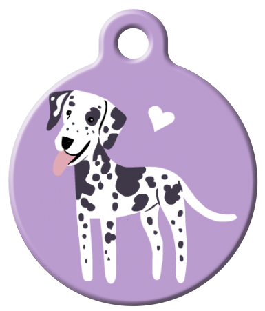 Dog Tag Art - Dalmatian Dog ID Tag | Krazy For Pets