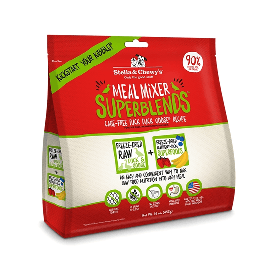 Stella & Chewy's - Cage-Free Duck Duck Goose Meal Mixer | Krazy For Pets