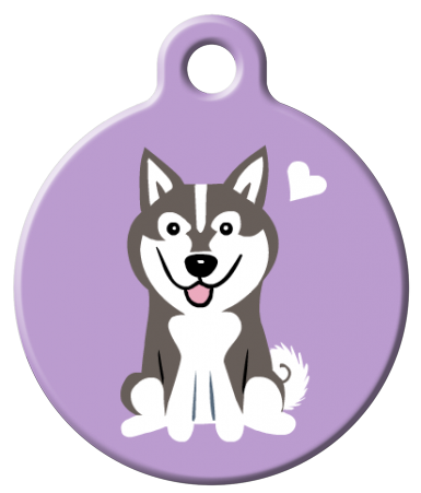 Dog Tag Art - Alaskan Klee Kai Dog ID Tag | Krazy For Pets