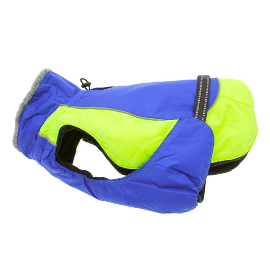 Doggy Design - Blue & Green Alpine All-Weather Coat | Krazy For Pets