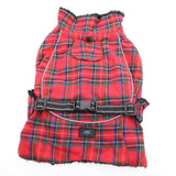Doggy Design - Flannel Red & Green Plaid Alpine All-Weather Coat | Krazy For Pets