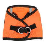 Doggy Design - Iridescent Orange Top Stitch Harness | Krazy For Pets