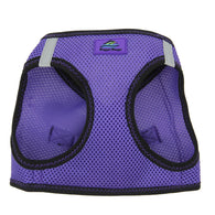 Doggy Design - Ultra Violet Purple Top Stitch Harness | Krazy For Pets
