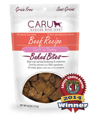 Caru - Beef Recipe Bites | Krazy For Pets