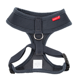 Puppia - Black Soft Harness | Krazy For Pets