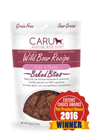 Caru - Wild Boar Recipe Bites | Krazy For Pets
