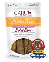 Caru - Chicken Recipe Bars | Krazy For Pets