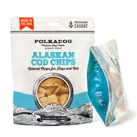 Polkadog Bakery - Alaskan Cod Chips | Krazy For Pets
