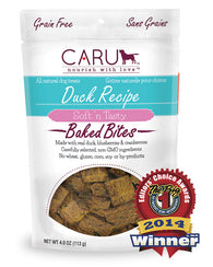 Caru - Duck Recipe Bites | Krazy For Pets