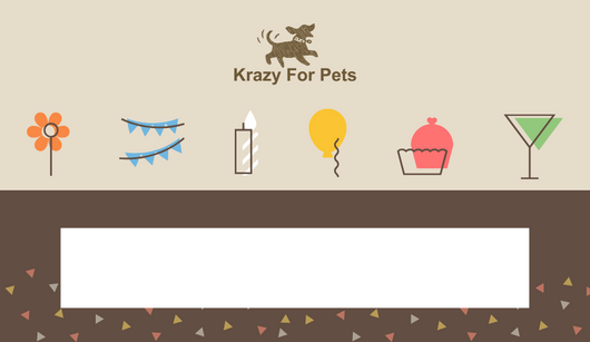 Krazy For Pets - Gift Card | Krazy For Pets