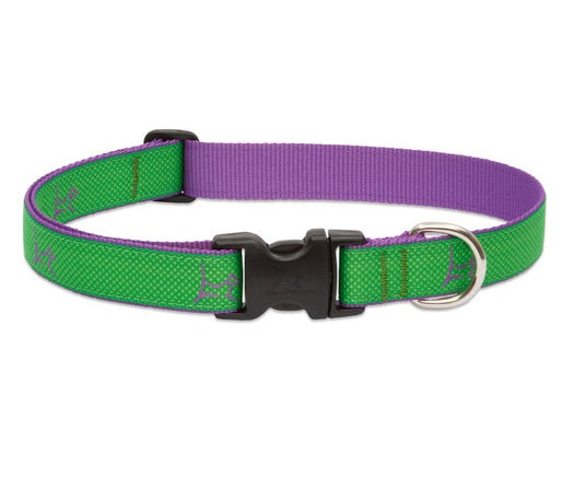 Lupine - Augusta-Green Club Collar | Krazy For Pets