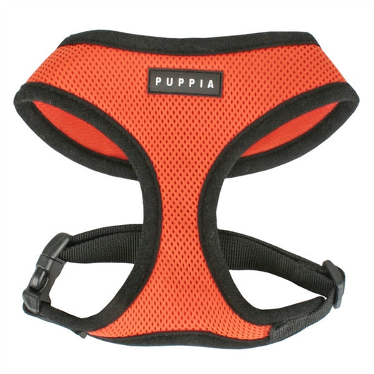 Puppia - Orange Soft Harness | Krazy For Pets