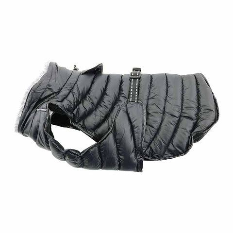 Doggie Design - Black Alpine Extreme Weather Puffer Coat | Krazy For Pets