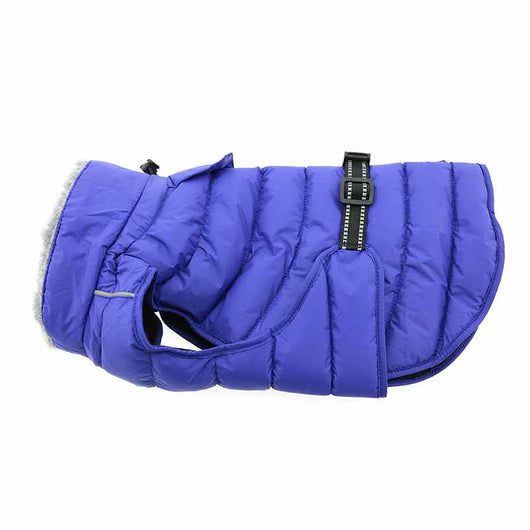 Doggie Design - Navy Blue Alpine Extreme Weather Puffer Coat | Krazy For Pets