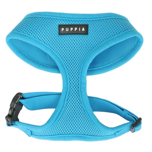 Puppia - Sky Blue Soft Harness | Krazy For Pets
