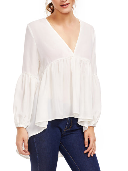 V Front Top With Frills