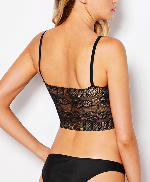Harness Detail Lacy Bralette
