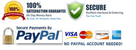Safe and Secure Check Out Guaranteed