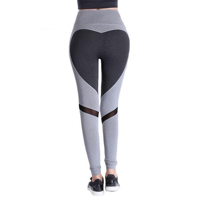 Good Heart Mesh Leggings