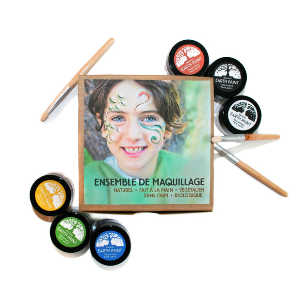 *BIENTÔT DISPONIBLE* / Ensemble de maquillage naturel - Studio d'art Shuffle