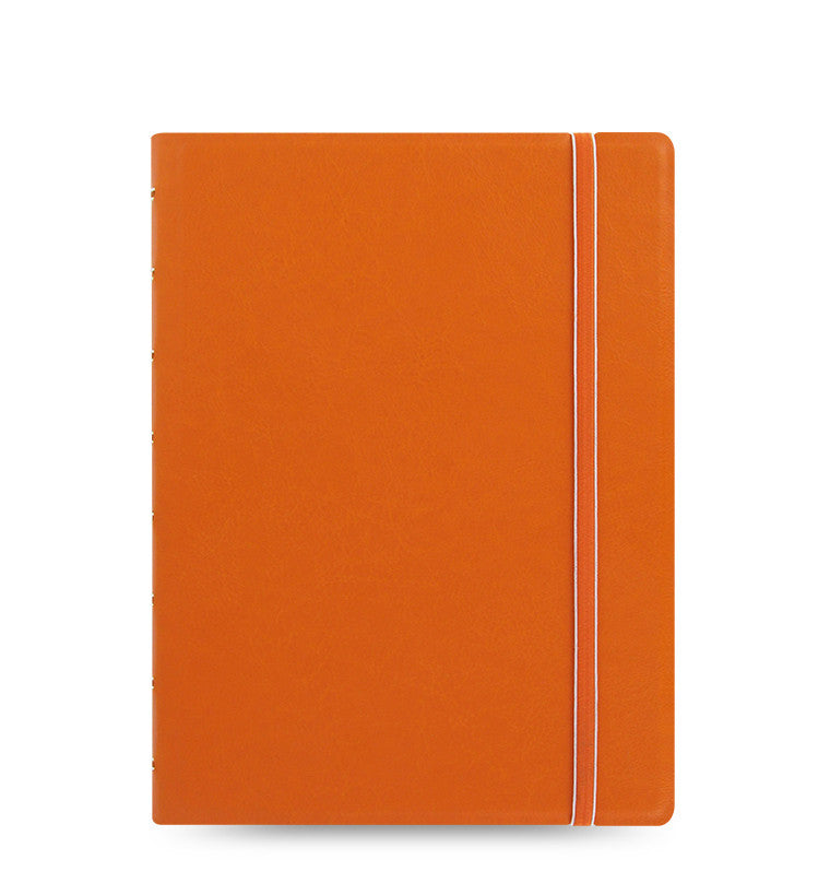 Cahier de notes rechargeable / Format A5 / Orange classique - Studio d'art Shuffle