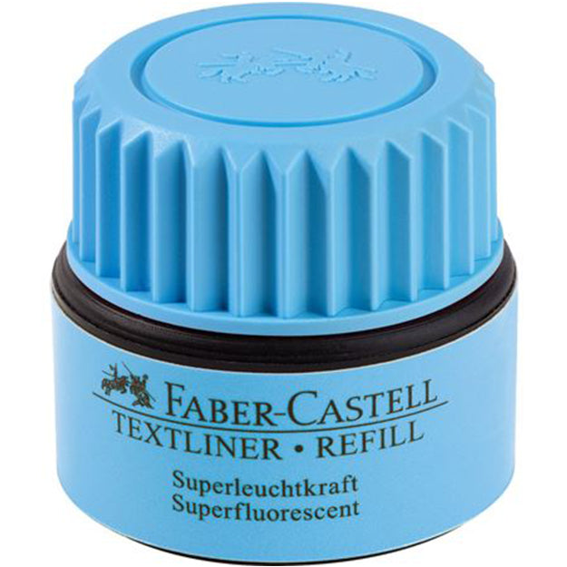 Recharge bleue pour surligneur / Faber Castell / Production carboneutre