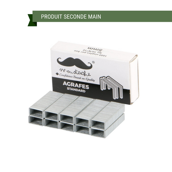 Agrafes No 10 5 mm Moustache (1000)