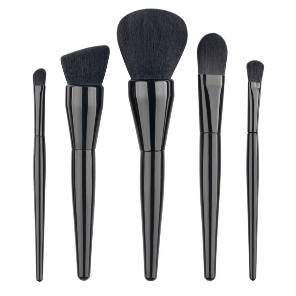 Blacked Out Brush Set - 5pcs - Envy'd Official