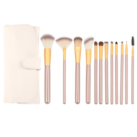 Brush Set & Case - 12pcs - Envy'd Official