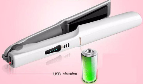 Hair Straightener Wireless USB Charging & Phone Charger