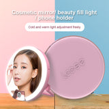 Selfie Ring flash Light Pro w/ Mirror (rechargeable)