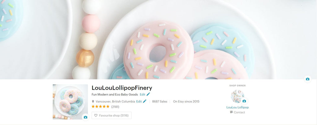 Loulou LOllipop on ETSY 5 Star reviews.