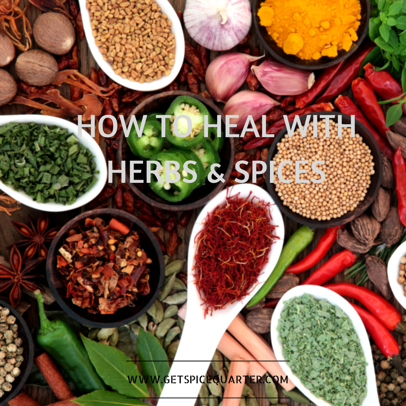 How to Heal with Herbs and Spices