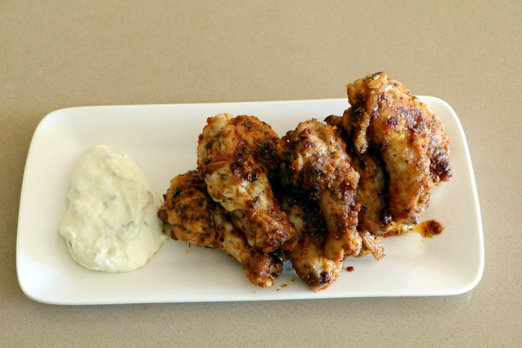 Greek Chicken Wings | Spice Quarter | Greek Spice Blend