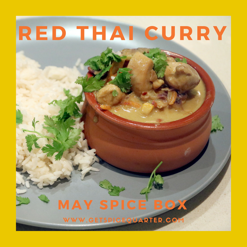Spice Quarter | Red Thai Curry | Red Thai Spice Blend